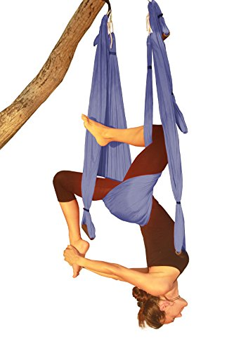 SALE-TODAY-ONLY-Wing-Aerial-Yoga-Swing-Inversion-Sling-Trapeze-Includes-2-Daisy-Chain-Adjustable-Straps-Best-Quality-Comfortable-and-Ultra-Strong