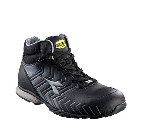 Diadora HI D_399 botas de cordones S3 161252 - Schwarz Grau