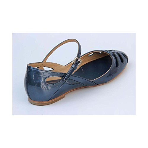Tods Dames Sandale Plate Xxw0kw07730rm0u604 Bleu