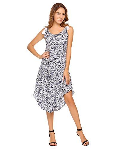 floral asymmetrical maxi dress - 7