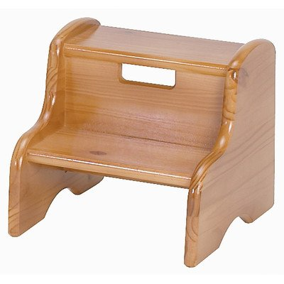 Stupendous Buy Kids Solid Wood Step Stool Finish Linen Mdf Letter Caraccident5 Cool Chair Designs And Ideas Caraccident5Info