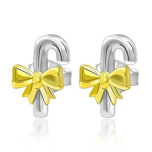 Christmas Gift New Year Jewelry Earring Christmas 925 Sterli