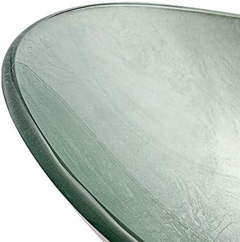 洗面化粧台シンク 現代芸術強化ガラスの洗濯ボウル滝クローム蛇口コンボ、ポップアップシンクドレイン 和風 洋風 お洒落な 節水 節約 (Color : Gray, Size : 54x36x16cm)