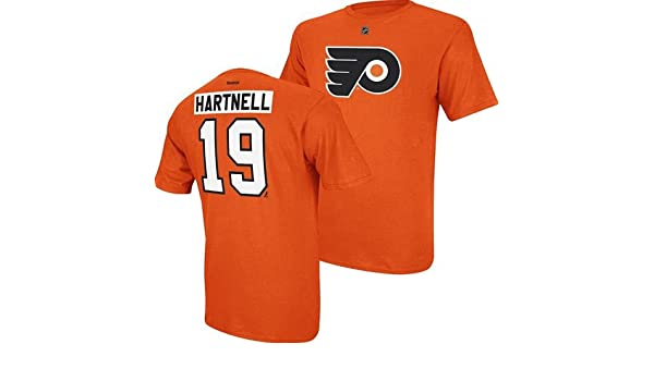 341988ea0 Amazon.com  Philadelphia Flyers Scott Hartnell Orange Net Print T Shirt   Clothing