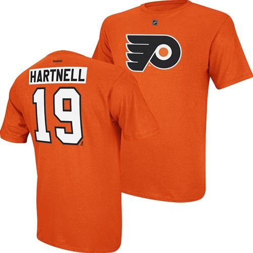 d292921fc Amazon.com  Philadelphia Flyers Scott Hartnell Orange Net Print T ...