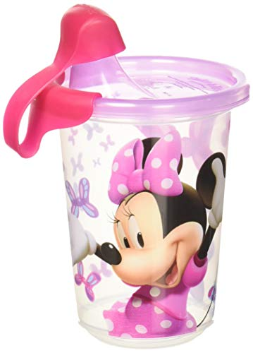 (The First Years Disney Take & Toss Sippy, 10 Ounce, 3 Pack Minnie Mouse)