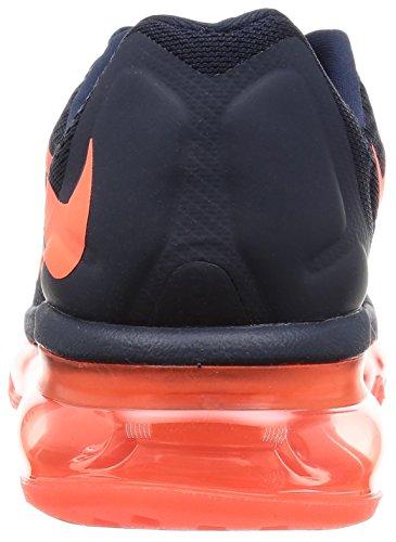 Nike W Air Max 2015 - - Mujer Azul Marino / Naranja