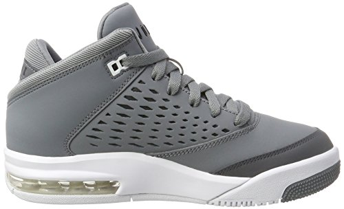 Nike Jordan Flight Origin 4 BG, Zapatos de Baloncesto Para Niñas Gris (Cool Grey/black/dk Grey/white)
