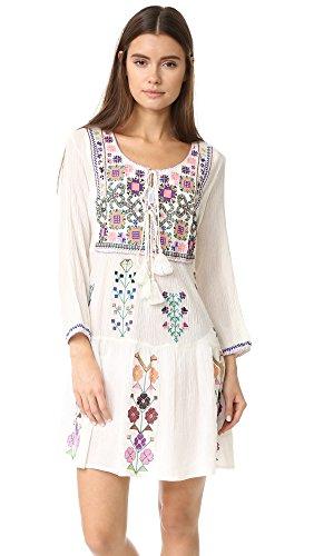 Melissa Odabash Women's Millie Dress, Cream, One Size