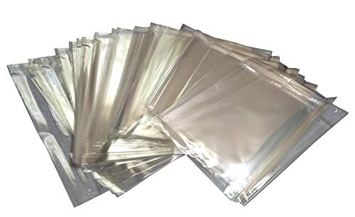 100 Pack Clear OPP Bags 5 x 7. Self-Adhesive Sealing Bags. Plastic Food Packaging. Cellophane Bags for Bakery. Peal and Seal. Recyclable. Moisture Resistant. Wholesale Price.