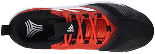 adidas Men's Ace Tango 17.2 Tr Low-Top Sneakers, Rosso (Red/FTWR White/Core Black), 0 Red (Red/Ftwwht/Cblack Rosso (Rojo/Ftwbla/Negbas))