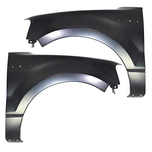 (04-08 F150 Pickup Truck Front Fender Quarter Panel Left Right Side SET PAIR)