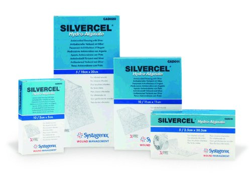 Silvercel Antimicrobial Alginate Dressing Sterile - 1