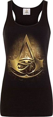 Spiral - Womens - Origins Logo - Assassins Creed Razor Back Top Black - M]()