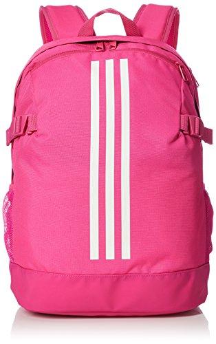 eb7cab55f adidas Unisex's 3-Stripes Power IV M Backpack, Shock Pink/White, 16 x 32 x  44 cm: Amazon.co.uk: Sports & Outdoors