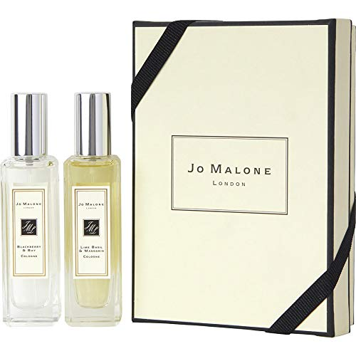 Jo Malone Cologne Spray 2-Piece Set for Women (Lime Basil and Mandarin + Blackberry and Basil)