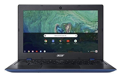 """Acer Chromebook 11 CB311-8H-C5DV, Celeron N3350, 11.6"""" HD, 4GB LPDDR4, 32GB Storage, Indigo Blue"""