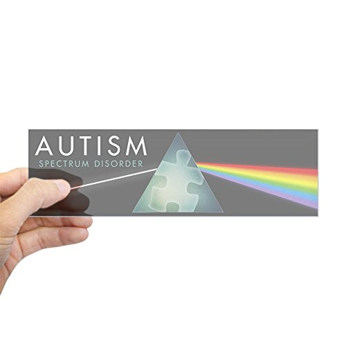 CafePress Autism Spectrum Sticker Rectangle