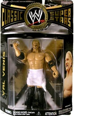 WWE Classic 18 VAL Venis Superstars Jakks TOY Wrestling Figure by WWE