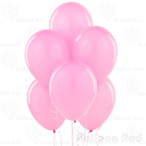 [12 Inch Latex Balloons (Premium Helium Quality), Pack of 144, Powder Pink] (Homemade Cupcake Costumes For Adults)