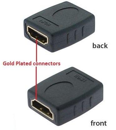 PTC Premium Gold Series HDMI hembra/hembra Coupler (Ptc Gold Cables)
