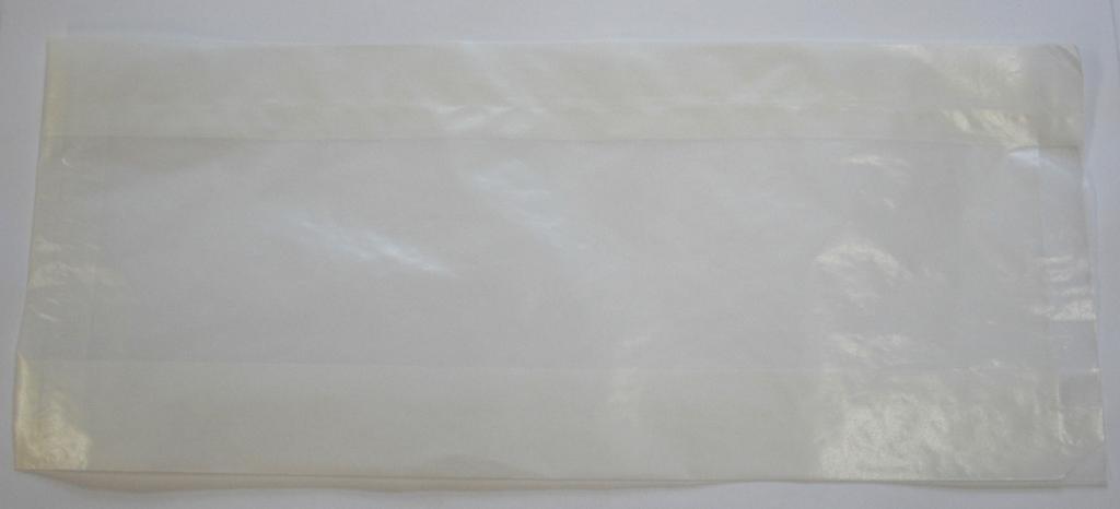 Pergaminbeutel mit Seitenfalte 150x70x350mm 1000 St.
