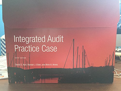 Integrated Audit Practice Case 6th Edition