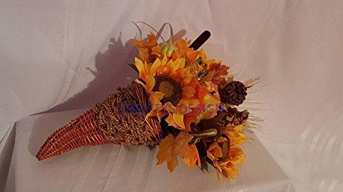 Fall Decor Cornucopia Horn Of Plenty (Horn Plenty)