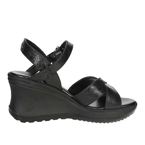 1871 Agile Sandalo 39 Rucoline a Nero By Donna BxaTE
