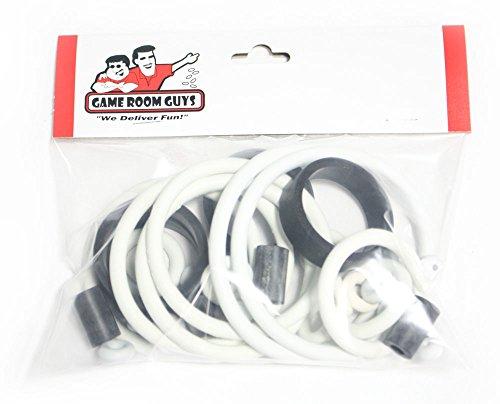 Game Room Guys Stern Elvis Pinball White Rubber Ring Kit