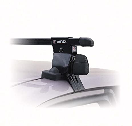 Inno Roof Rack Stays With Lock And Keys For Vehicles With Smooth Rooftops,  Pack Of