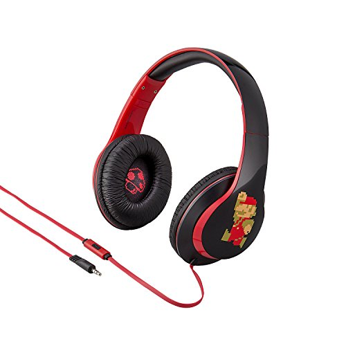 Super Mario Bros Over the Ear Headphones with Built in Microphone Quality Sound from the makers of iHome