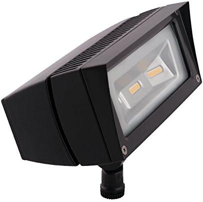 RAB Lighting FFLED18N PCS2 Future Flood 18W Neutral LED, 277V, Bronze