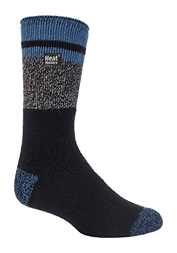 Heat Holders - Mens New Winter Warm Twist Thermal Socks 7-12 US (Dalston)