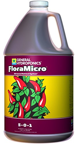 General Hydroponics GH1413 Flora Micro, 1 Gallon (General Hydroponics Nutrients)