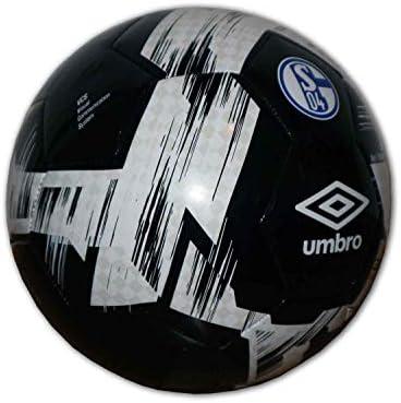 Umbro Schalke 04 - Balón de fútbol, Color Negro, Todo el año ...