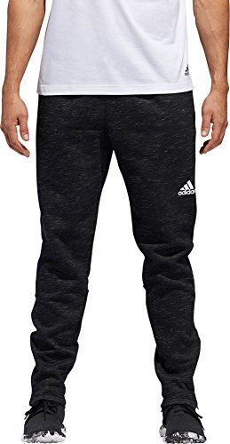 adidas Mens Post Game Fleece Tapered Pants (XL, Black) Adidas Big Game Fleece