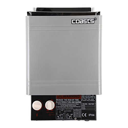 Coasts AM45A 4.5 kW Wet and Dry Sauna Heater Stove for Spa Sauna Room