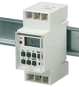 BlueTronics e.K. - Temporizador digital (230 V, 3500 W)