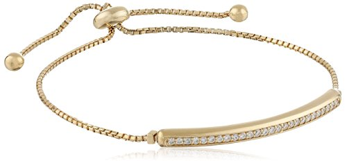Invisible Set Diamond Adjustable Bracelet Clarity