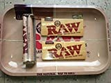 Raw Rolling Tray Small Bundle with Raw 110mm Roller and Raw King Size