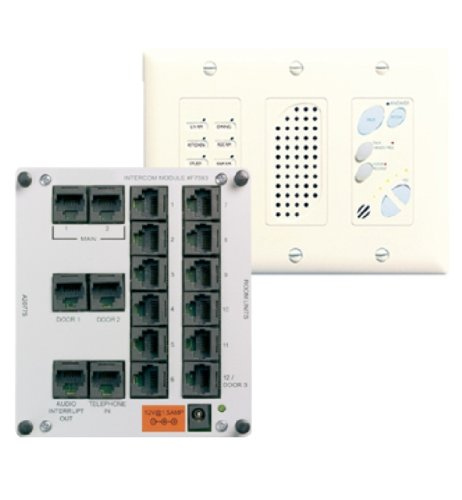 On-Q IC1002IV Intercom Module and Main Console Unit, Ivory by Legrand-On-Q