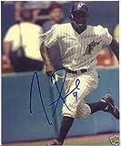 Autographed Pierre Picture - Florida Marlins 8x10 W coa - Autographed MLB Photos