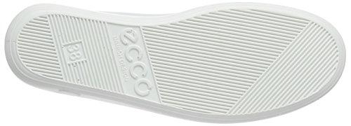 Ecco ECCO SOFT 2.0 - zapatos con cordones de cuero mujer Blanco (WHITE1007)