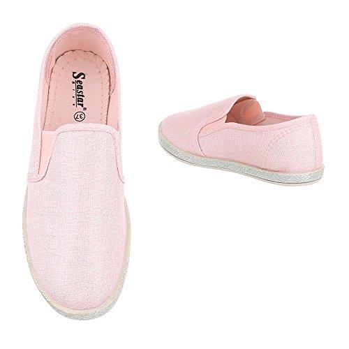 Ital-Design Women's Low-Top Light Pink bb7BccCv