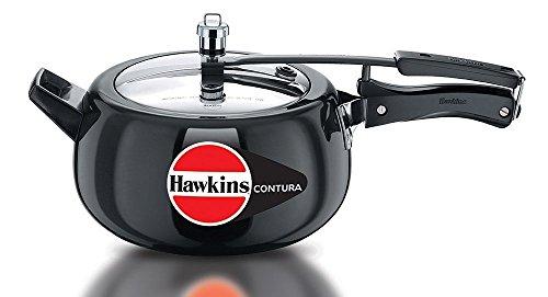 Hawkins Contura 5 Liters Hard Anodized Pressure Co…