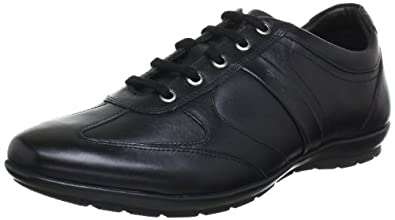 Amazon.com | Geox Men's Symbol Lace-Up Fashion Sneaker