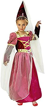 Disfraz Princesa Medieval niña infantil para Carnaval: Amazon.es ...