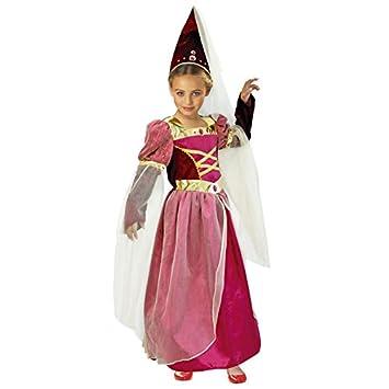 Disfraz Princesa Medieval niña infantil para Carnaval ...