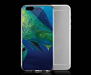 Light weight with strong PC plastic case for iPhone 5c Art Paintings Sea Bass